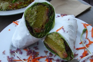 "The ""Flying Falafel"" Wrap"