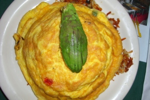 This is NOT an omelette.