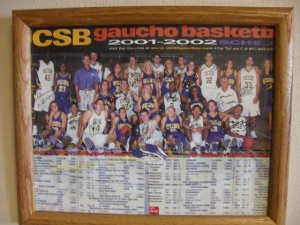 Go Gauchos!  You'll get back there someday.