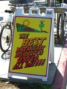 Breakfast burrito... FTW!