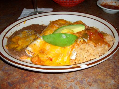 Crab Enchiladas